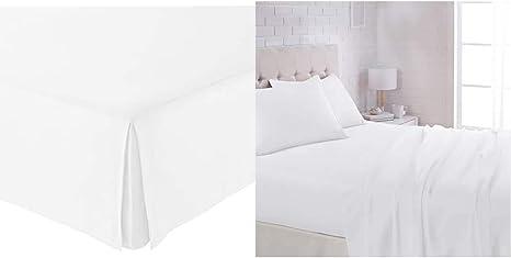 Soft Basic Pleated Bed Skirt