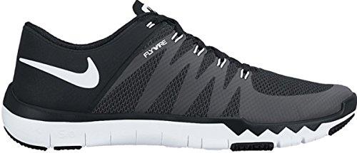 Nike Men's Free Trainer 5.0 V6 Training Shoe Black/Dark Grey/Volt/White Size 8.5 M US ()