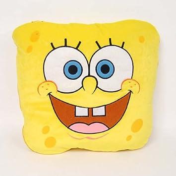 spongebob squarepants cushion pillow duvet yellow untoldable design
