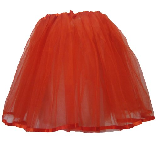 Hairbows Unlimited Hairbowsunlimited.com Adult & Teen Red Ribbon Lined Dance Tutu