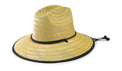 san-diego-hat-co-mens-raffia-and-straw-sun-hat-natural-black-one-size