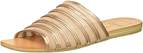 Dolce Vita Women's Katlee Slide Sandal, Rose Gold Mesh, 9.5 M US - Dolce Vita Womens Rose