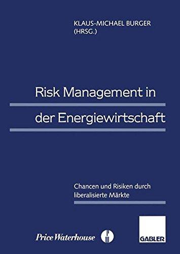 Risk Management in der Energiewirtschaft: Chancen und Risiken durch liberalisierte Märkte