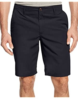 Men's Straight-Fit Poplin Shorts