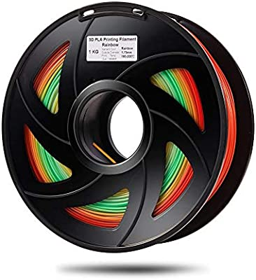W-Shufang,3D PLA Cambio de Color del Arco Iris 3D Material ...