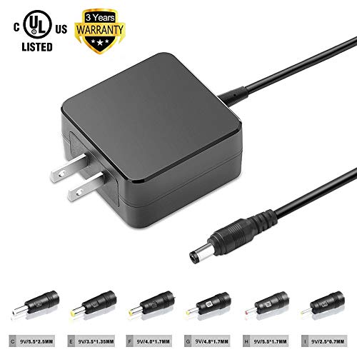 TFDirect Universal Power Adapter with 6 DC Plugs for all Brands Portable DVD Player Fits Sylvania Philips Axion RCA Sony Insignia Durabrand LG Toshiba Disney Accurian Walata Audiovox Trutech Panasonic