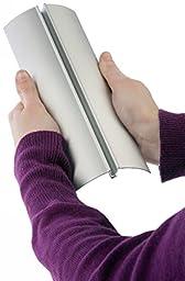 Displays2go Tabletop Brochure Holder with Sign Frame, 11x14\