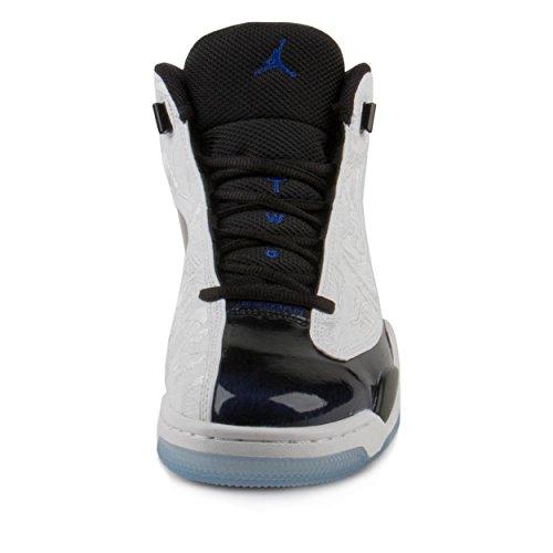 Nike Mens Air Jordan Dub Zero Concord Basketball Shoes White/Concord/Black/White 311046-106 Size 11.5 by Jordan (Image #2)