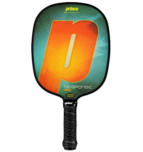 Prince response pro Pickleballパドル B07D97F4K3 Standard Weight|Orange | Large Grip Orange | Large Grip Standard Weight