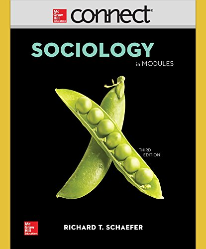 Connect Access Card for Schaefer Sociology in Modules -