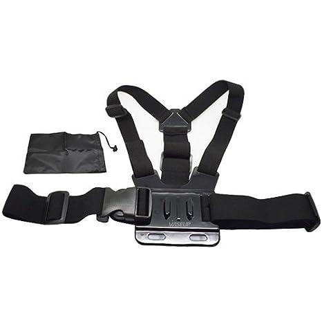Cintura Wiseup arnés de pecho + cámara partes bolsa para cámaras ...