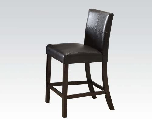 ACME Set of 2 Bologna/Bravo Bycast Counter Height Chair