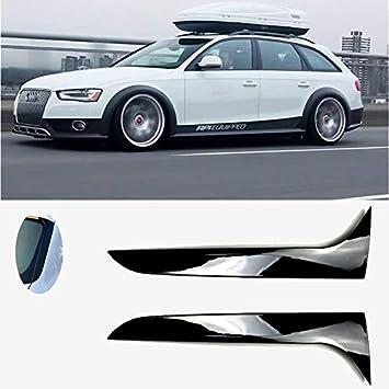 D28JD Heckfl/ügel Flanke Spoiler Hochwertige ABS Material Paste Typ Schwarz f/ür Sharan 2011-2020 Car Styling