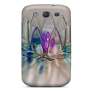 New Arrival Lkvmi1558mPop Postea Premium Galaxy S3 Case(crystal Flower)