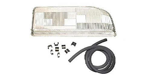 Volvo 850 1994-1997 Headlight Lens Right/Passenger Volvo Headlight Lens