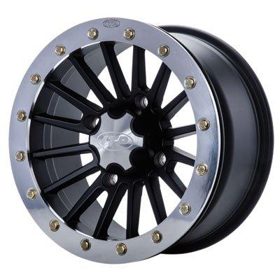 ITP SD Beadlock Machined/Matte Black ATV Wheel Front/Rear 14x7 4/156 - (4+3) ()
