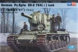 Hobby Boss Russian Tank 1/48 Russian Kv-1 1942 Heavy Cast Turret