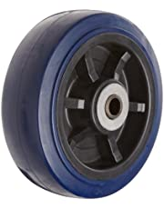 RWM Casters UPR-0620-08 6-Inch Diameter X 2-Inch Width Urethane On Polypropylene Wheels with Straight Roller Bearing, 900-Pounds Capacity