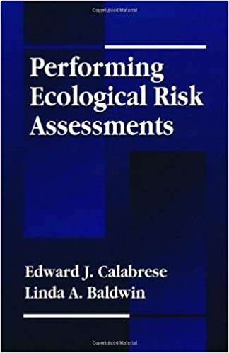 Télécharger gratuitement sur google books Performing Ecological Risk Assessments (National Toxicology Program's Chemical Database) 1st edition by Calabrese, Edward J., Baldwin, Linda A. (1993) Hardcover FB2