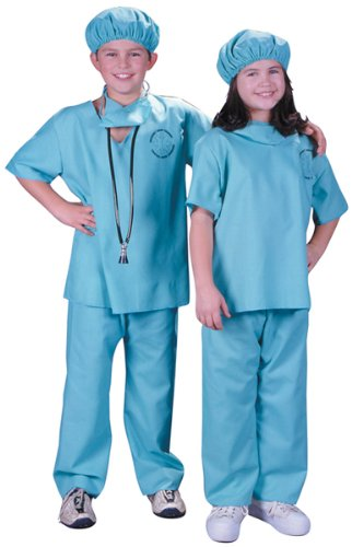 [Doctor Costume Child - Child 8-10] (9 Doctor Costume)