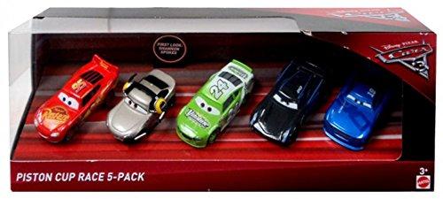 Disney Pixar Cars 3 Piston Cup Race 5-Pack (Includes Jackson Storm)