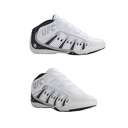 UFC Ultimate Training MMA Sparring Lightweight Shoes White/Silver Size 5 (Ufc Footwear)