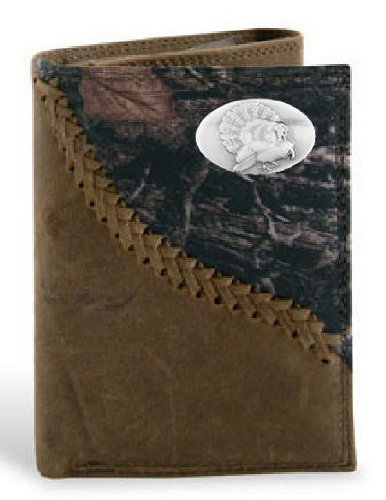 Turkey - Leather Fence Row Camo Trifold Wallet