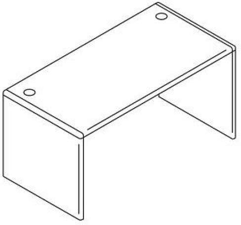 Reviewed: HON 107825JJ 10700 Series Desk Shell