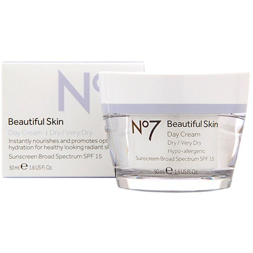 Price comparison product image BOOTS No7 Beautiful Skin Day Cream - Dry / Very Dry, 1.6 fl oz