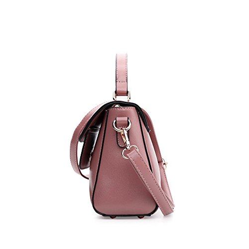 Simple Et Sac Pink Bandoulière À Main Marron Sac À GWQGZ Sac Américain À Et Main Mode Pour Facile Femme Nouveau Européen POqRwqa