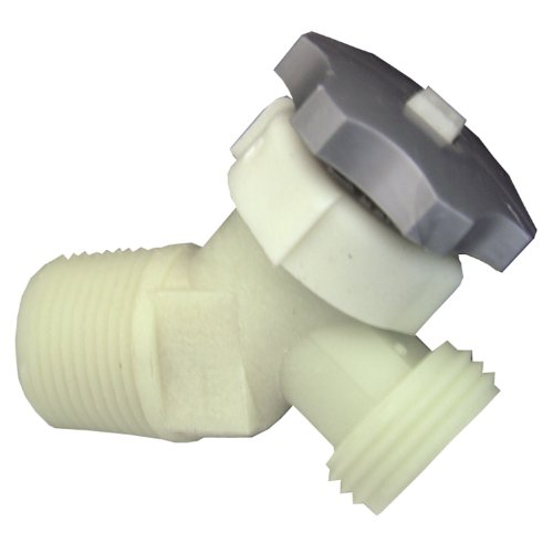 Drain Heater - LASCO 40-0911 Plastic Water Heater Drain Valve with 5/8-Inch Shank 3/4-Inch Male Pipe