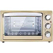 DULPLAY Toaster Oven,Best convection,Mini,30l,Capacity,Digital dining,Countertop Oven Black Digital Polished stainless Toast Home Kitchen -A 37x32.5x25cm(15x13x10inch)