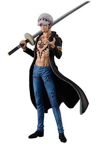 Shokugan One Piece 5.1-Inch Trafalgar Law Figure, Super One Piece Styling, Trigger of the Day Blind Box (Styles May Vary)