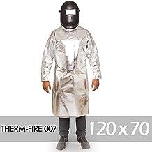 Avental Térmico Benetherm Therm-Fire 007 Barbeiro Neo/Alum. Prata 120x70 ca 38351