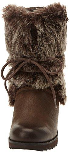 Clarks Minx Jeanie - Botas Mujer Dark Brown Leather