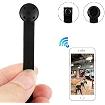 WIFI Spy Camera, Wireless HD 1080P Nanny Cam Home Security Hidden Camera with Motion Detection