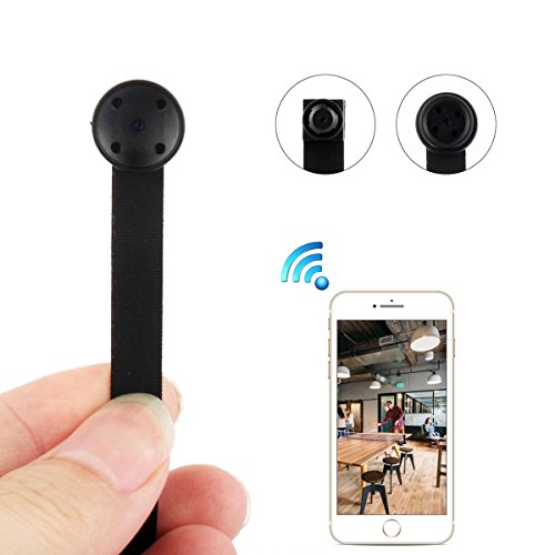 WIFI Spy Camera, Mini Wireless HD 1080P Nanny Cam Home Security Hidden Camera with Motion Detection (Very Small Camera Spy)