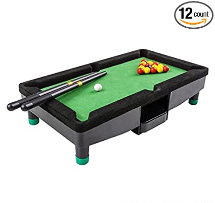 Amazoncom DESKTOP MINI POOL TABLE Case Of Sports Outdoors - Mini pool table size