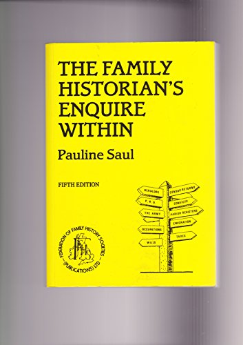Family Historian's Enquire within