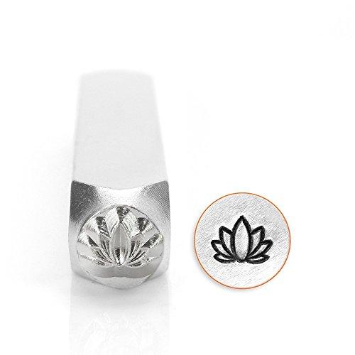 [해외]ImpressArt- 6mm, 연꽃 디자인 스탬프/ImpressArt- 6mm, Lotus Flower Design Stamp