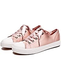 Womens Canvas Sneaker Shoes Fashion Style Low Cut Lace...