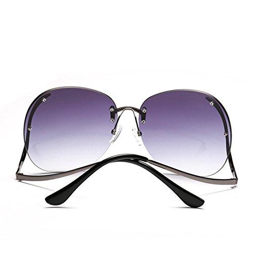 marco señoras brillantes y sin 153 la gafas sol 63m Las sol calle las B de Estados de la m gafas marco de de NIFG tiraron de moda sin 149 Unidos Europa Rqw4X0Rn