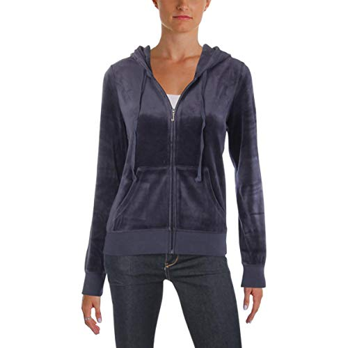 - Juicy Couture Women's Track Velour Juicy Gothic Studs Robertson Jacket Regal Small