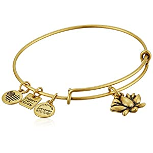Alex and Ani Lotus Blossom Bangle Bracelet