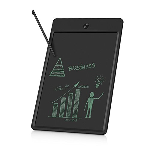 10 Inches LCD Writing Tablet - Portable Electronic Writing Drawing Board Doodle Pads with Stylus for School, Home & Office Great Gifts for Kids