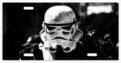 Star Wars Storm Trooper G5 Vanity License Plate