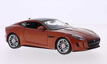Modellbau Jaguar ~ Jaguar f type coupe kupfer schwarz 0 modellauto fertigmodell