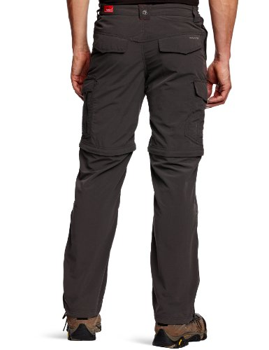 Nosilife Hombre Pantalones Marrón Para Senderismo Craghoppers Color De Negro Oscuro UqOdwBH
