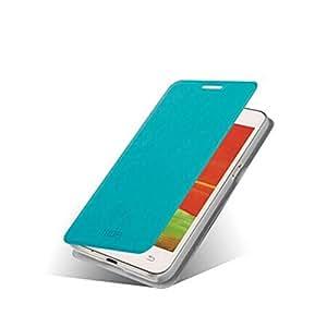 MOFI Rui Serie ultrafino de la cubierta de cuero del caso del tirón para Samsung G3556D (color: azul)