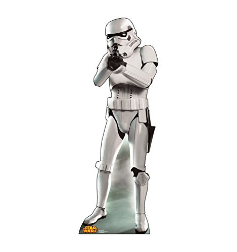Standee Cut Out Poster - Advanced Graphics Storm Trooper Life Size Cardboard Cutout Standup - Star Wars Classics Retouched